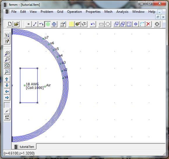 Finite Element Method Magnetics: FEMM 4 2 Magnetostatic Tutorial